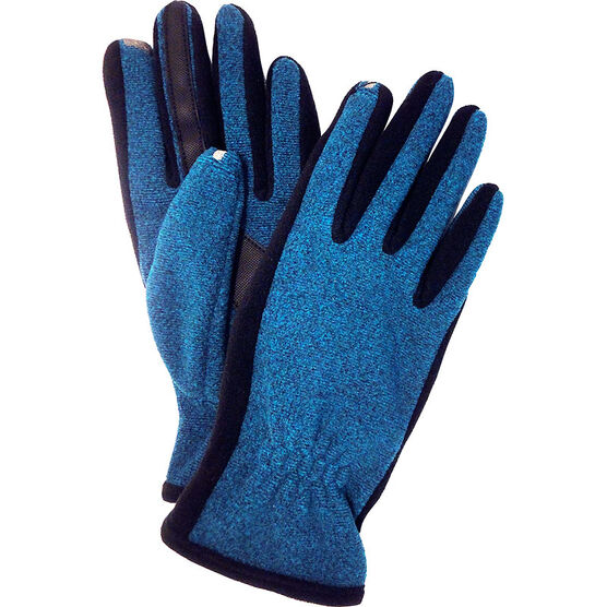 Isotoner SmarTouch 2 Tone Gloves - Dynasty Blue