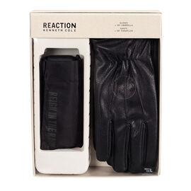 Kenneth Cole Umbrella/Glove Set - Black - Large