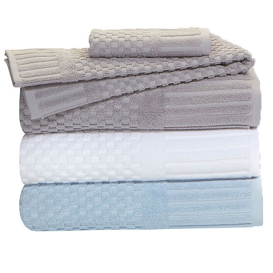 Royal Living Face Towel - Optic White