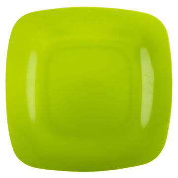Solid Square Dinner Plate - Kiwi - 10inch