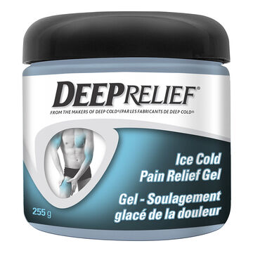 Deep Relief Ice Cold Pain Relief Gel - 255g
