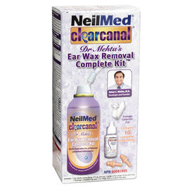 NeilMed ClearCanal Dr. Mehta's Ear Wax Removal Complete Kit