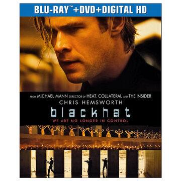 Blackhat - Blu-ray + DVD + Digital HD