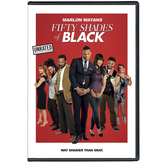 Fifty Shades of Black  - DVD