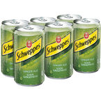 Schweppes Ginger Ale - 6 x 222ml