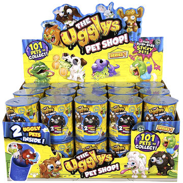 The Ugglys Pet Shop Series 1 Pets - Assorted - 2 pack