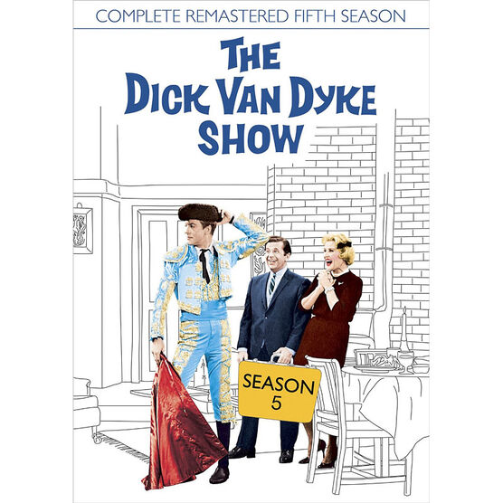 The Dick Van Dyke Show: Season Five - Remastered - DVD