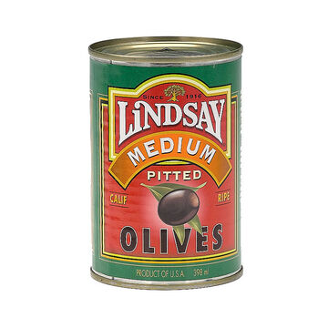 Lindsay Medium Pitted Olives - 398ml