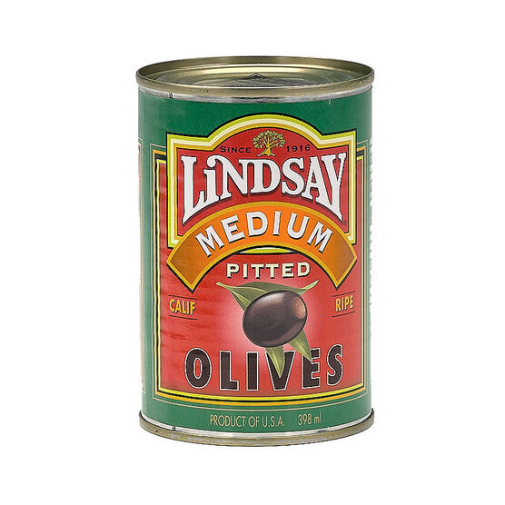 Lindsay Medium Pitted Olives - 398ml