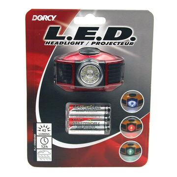 Dorcy Tri-Colour LED Headlamp - 41-2093