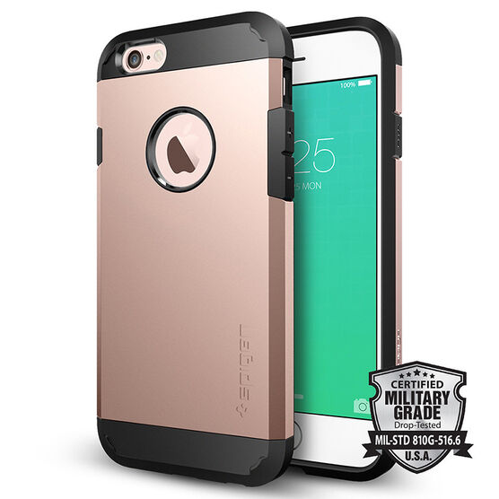 Spigen Tough Armor Case for iPhone 6/6s - Rose Gold - SGP11741