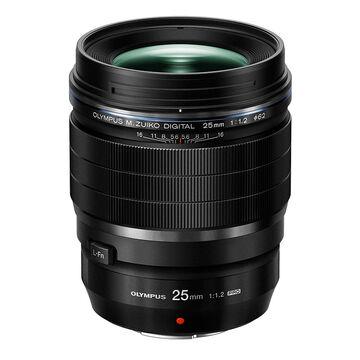 PRE-ORDER: Olympus 25mm F1.2 PRO Lens - Black -V311080BU000