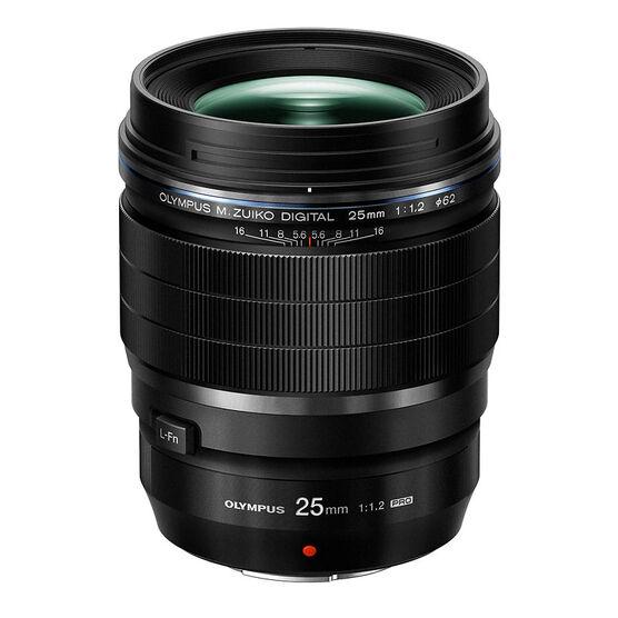 Olympus 25mm F1.2 PRO Lens - Black - V311080BU000