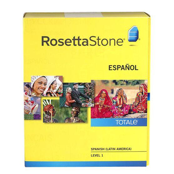 Rosetta Stone V4 Spanish Level 1