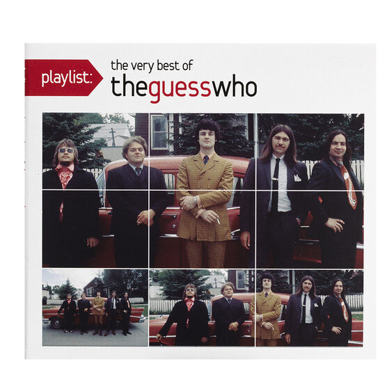 Playlist: The Very Best of the Guess Who - CD