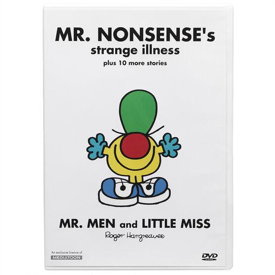 Mr. Nonsense's Strange Illness - DVD