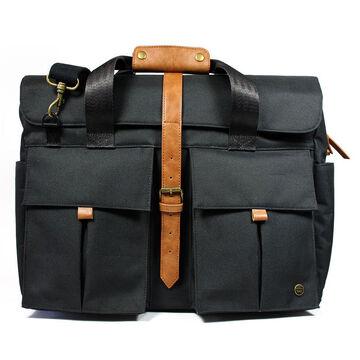 "PKG LB07 15"" Messenger Bag - Black - PKG LB07-15-BLK"
