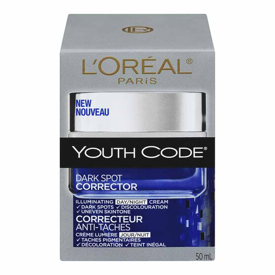 L'Oreal Youth Code Dark Spot Corrector Day/Night Cream - 50ml