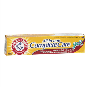 Arm & Hammer All-in-One Complete Care Whitening Gel Toothpaste - 120ml