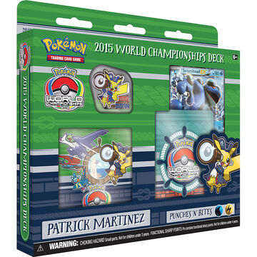 Pokémon 2015 World Champion Deck - Assorted