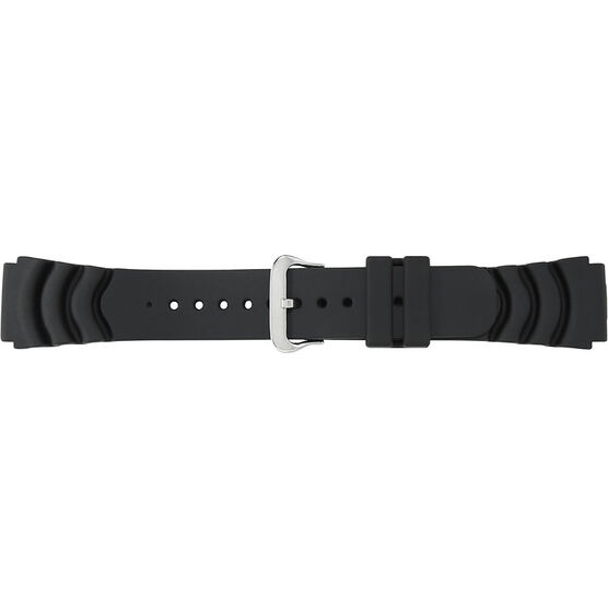 Timex Sports Watch Strap/Band - Black - 22mm - Q7B722BZ