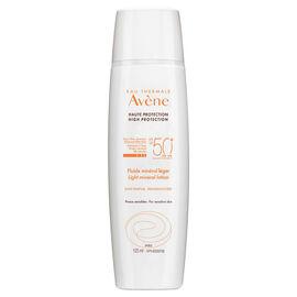 Avene Light Mineral Lotion SPF 50+ for Face & Body - 125ml