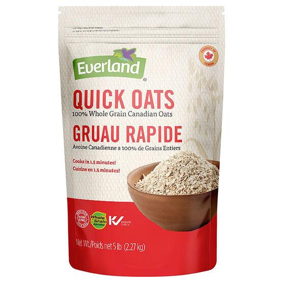 Everland Canadian Oats - Quick Oats - 2.27kg