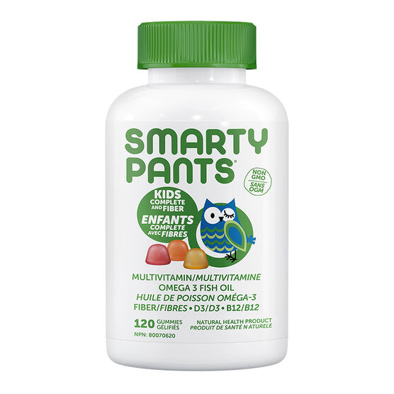 Smartypants Kids Complete + Fiber Multivitamins Gummies - 120's