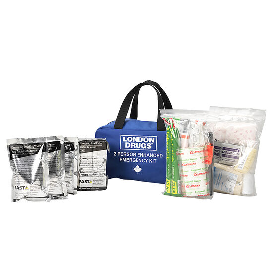 London Drugs Enhanced Emergency Kit - 2 person
