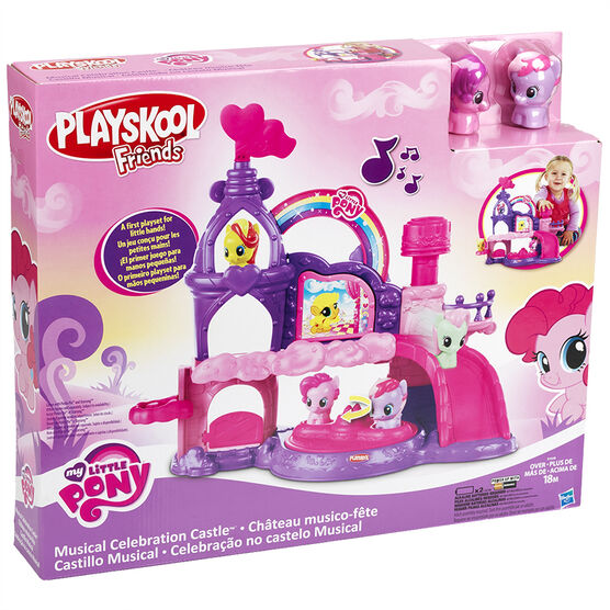 Playskool Friends - My Little Pony Musicical Celebration Castle