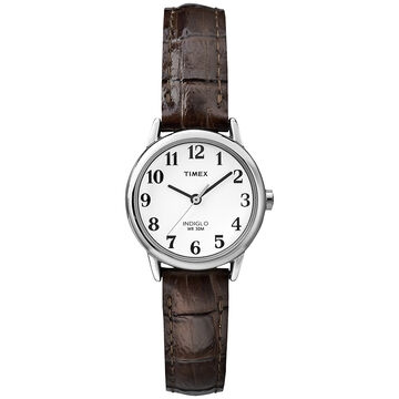 Timex Easy Reader Watch - Black/Tan - T2P320C2