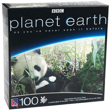 Planet Earth Puzzle - Assorted - 100 Piece