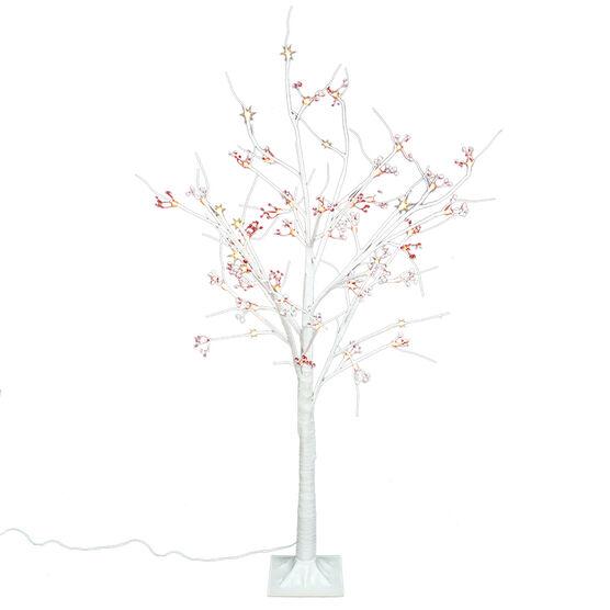 Danson LED Birch Tree - 4ft - White - X99116