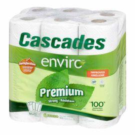 Cascades Enviro Paper Towel - 6's