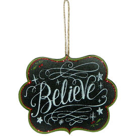 Christmas Forever Believe Sign - XM-JC5102