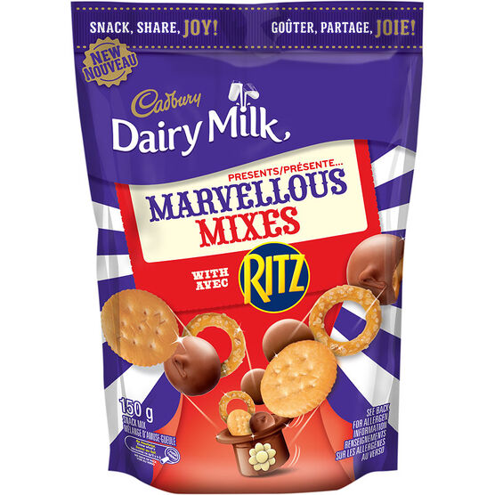 Cadbury Marvellous Mixes with Ritz - 150g