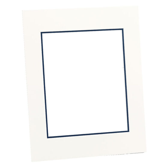 Tempo 11x14 Mat Frame - Chantilly/Mid-Blue