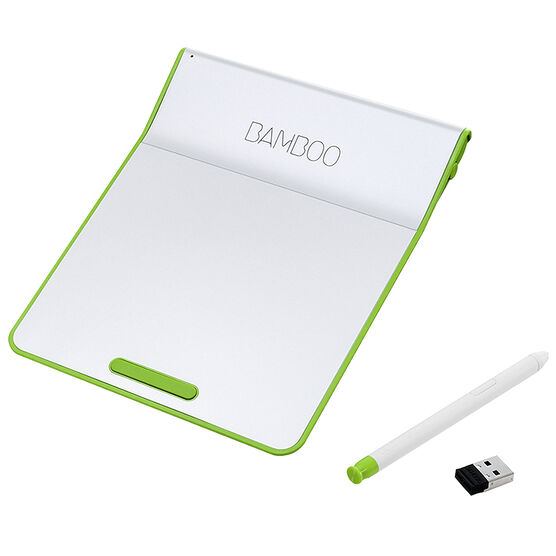 Wacom Bamboo Pad Wireless Tablet with Pressure-Sensitive Stylus - Green - CTH300E | London Drugs