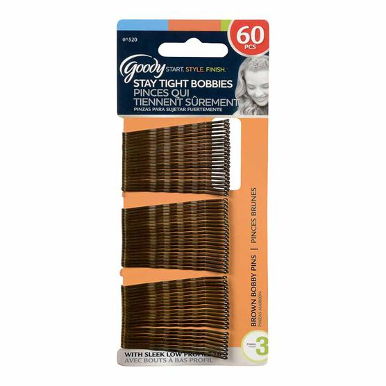 Goody Bobby Pins - Brown