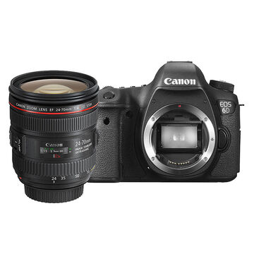 Canon EOS 6D with 24-70mm f2.8L II USM Lens