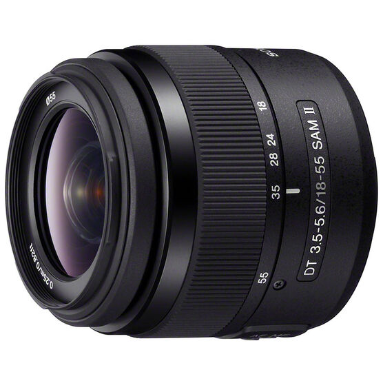 Sony A Mount DT 18-55mm f/3.5-5.6 Zoom Lens - SAL18552