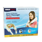ObusForme Shiatsu and Vibrating Neck Masager with Heat - SM-SNM-02
