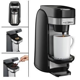 Hamilton Beach Flexbrew Coffeemaker - Black - 49997C