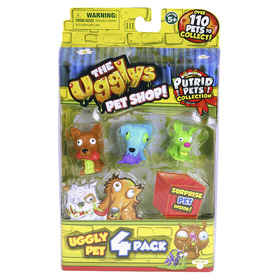 Ugglys Pet Shop - Assorted - 4 pack
