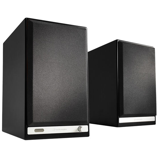 Audioengine HD6 Powered Bookshelf Speakers - Satin Black - HD6BLK