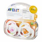 Avent Animal Pacifiers - 0-6 months - SCF182/23