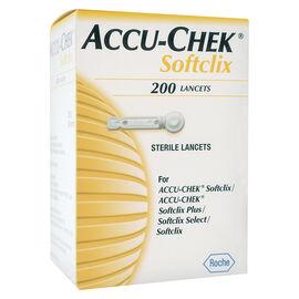 Accu-Chek Softclix Select Lancets - 200's