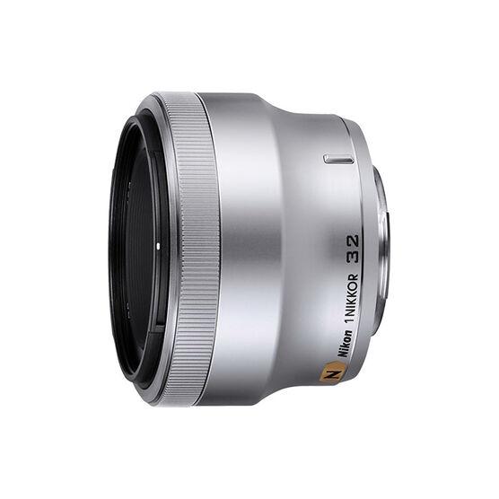 Nikkor 1 32mm f/1.2 Lens - Silver - 3360 - Open Box Display Model