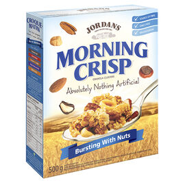 Jordans Morning Crisp Ceral - Bursting with Nuts - 500g