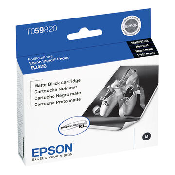 Epson R2400 Stylus Photo Ink Cartridge - Matte Black - T059820